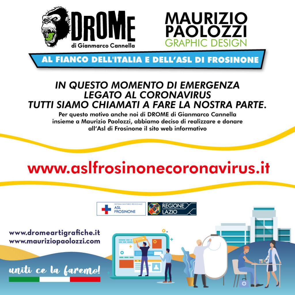 Asl Frosinone Donazione sito web